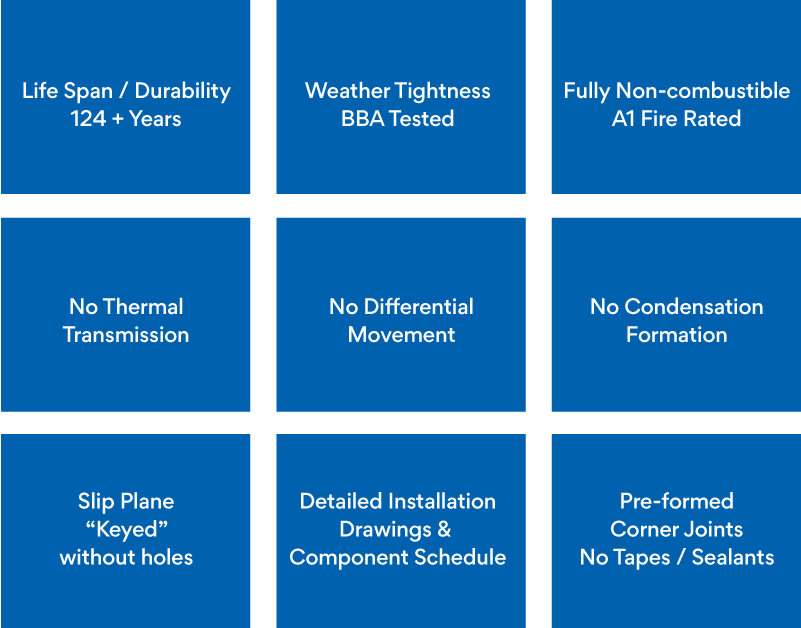 9 considerations when creating a non-combustible cavity tray solution