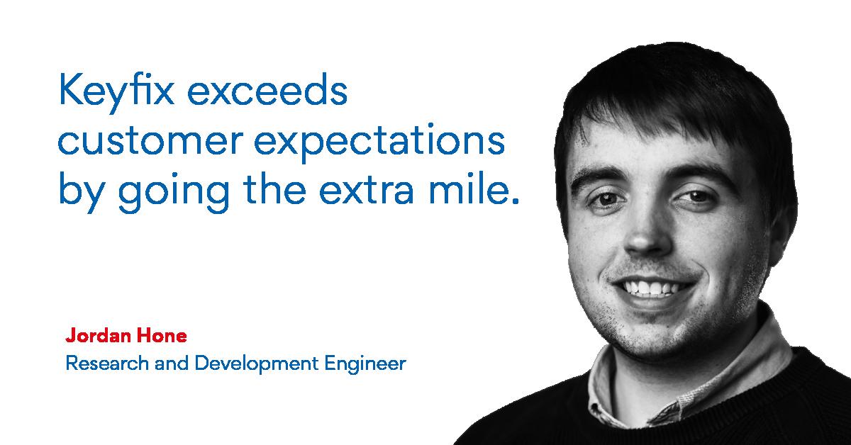 Meet Keyfix Research & Development Engineer, Jordan Hone