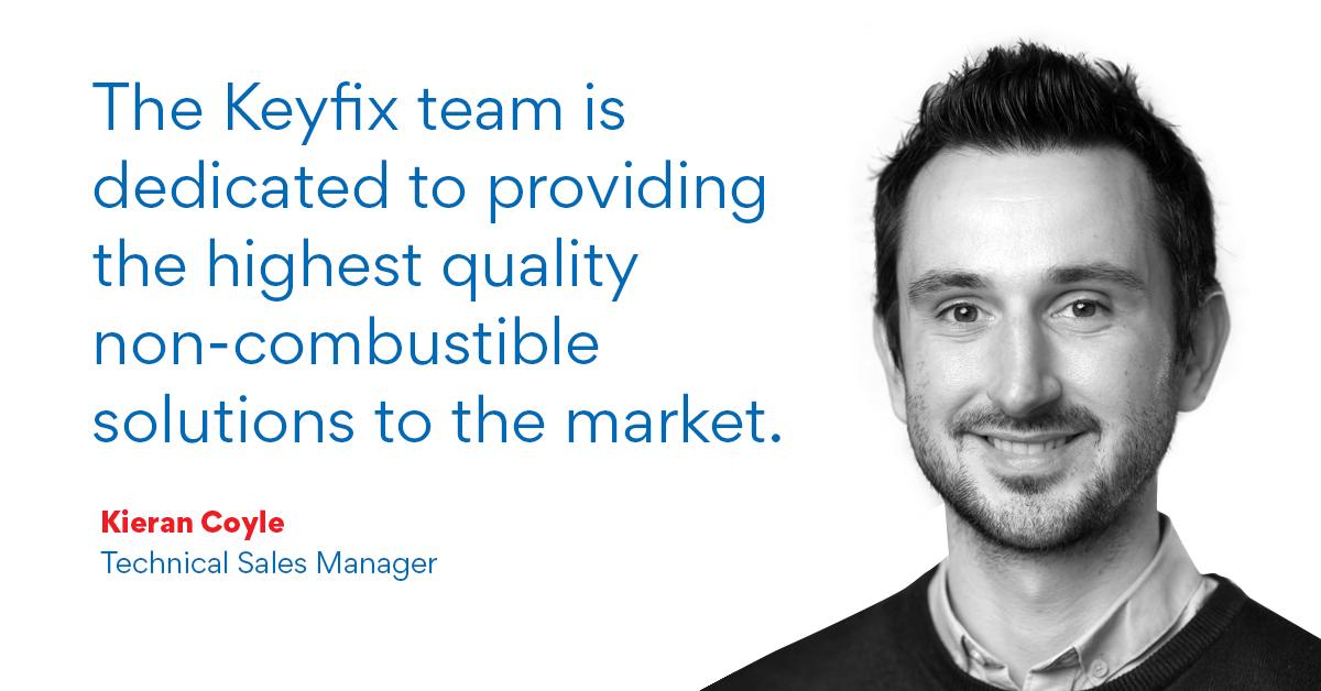 Meet Keyfix Technical Sales Manager, Kieran Coyle.