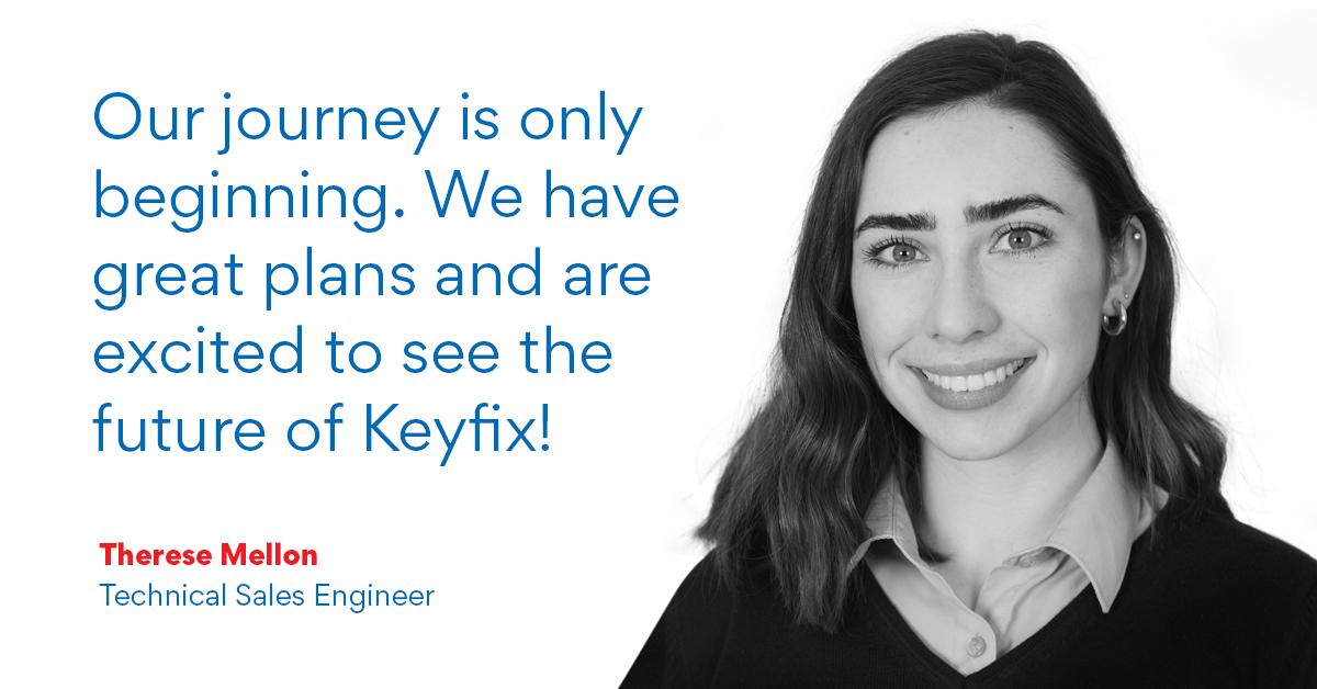 Meet Keyfix Technical Sales Engineer, Therese Mellon