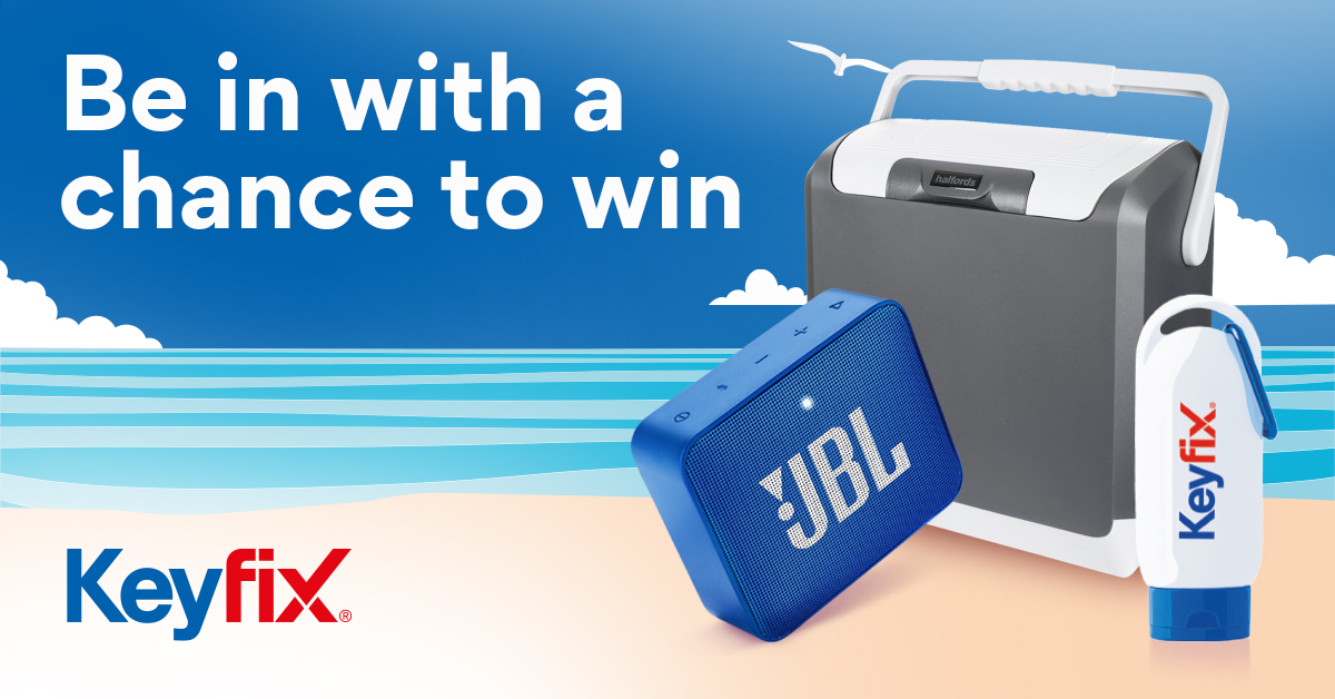 Be in with a chance to win!